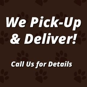 We Pick-Up & Deliver!